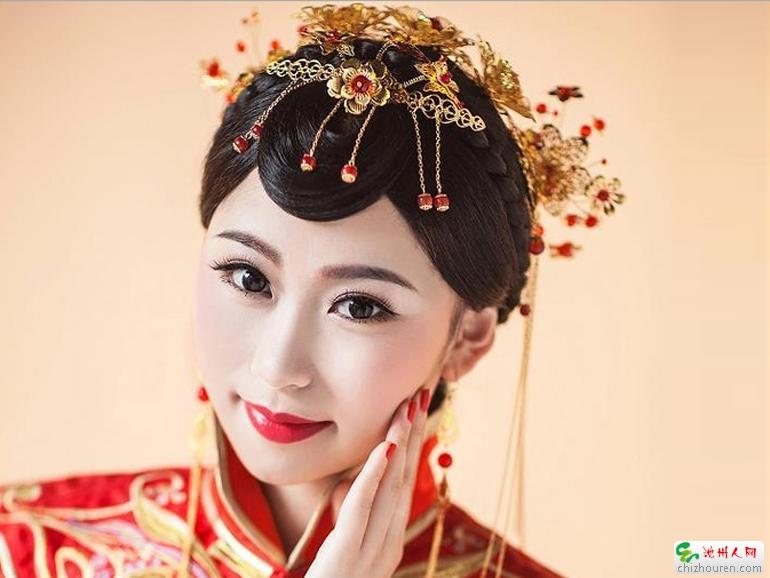 3步打造自然轻盈的韩式风格新娘妆